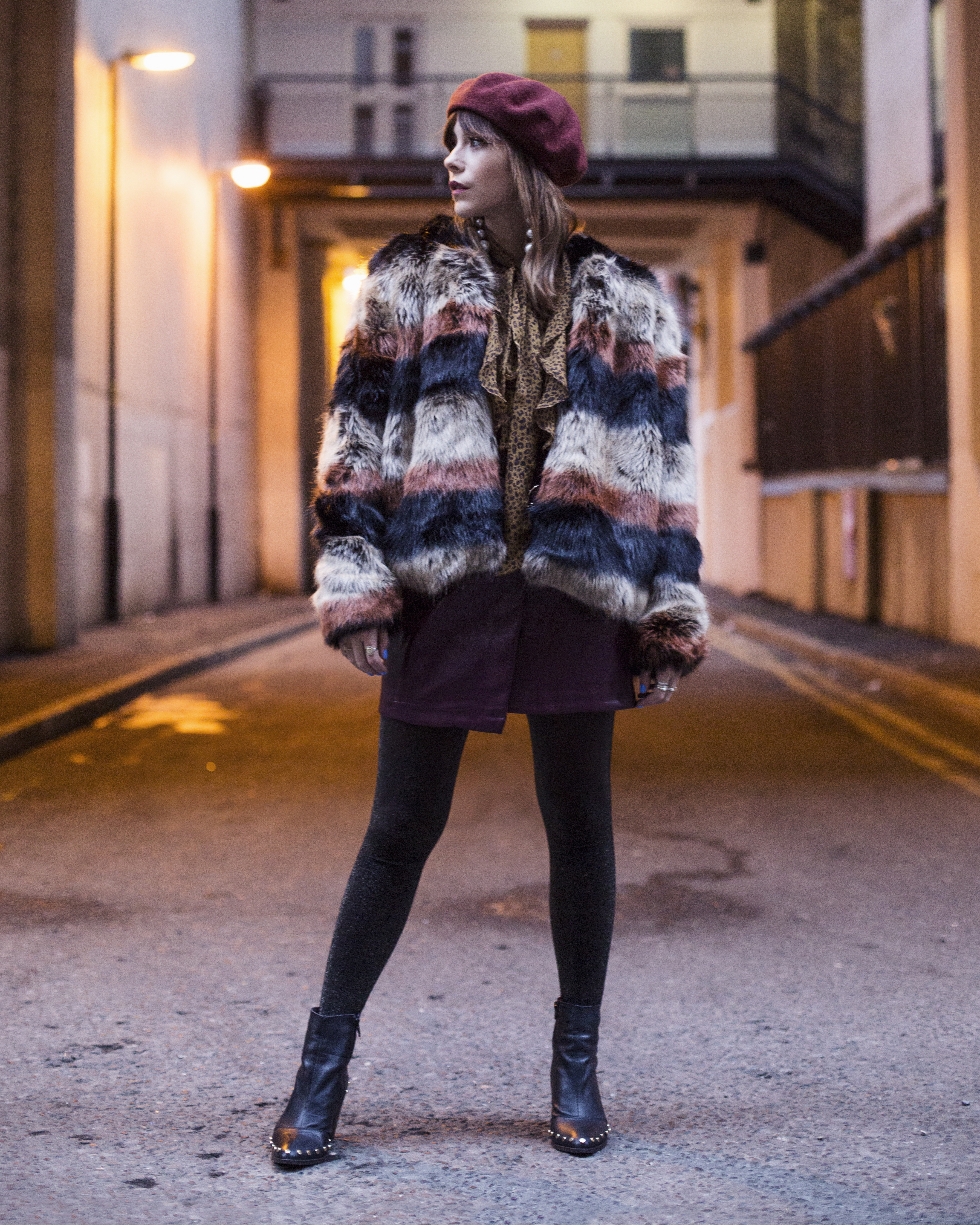 MEGAN ELLABY SHOWS HOW TO WEAR THE MAXIMALISM TREND