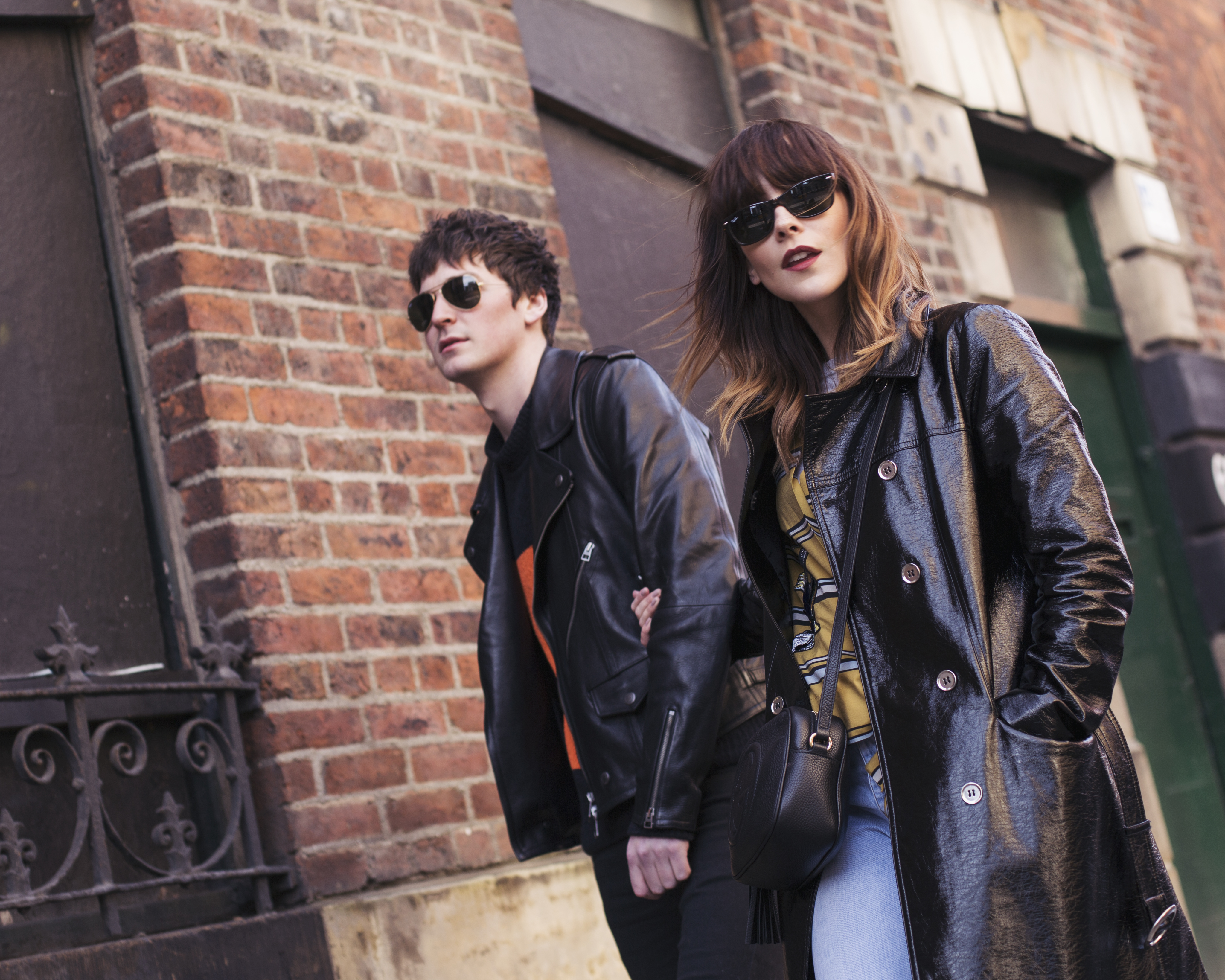 GEORGE CRAIG AND MEGAN ELLABY FOR RAYBAN 2017