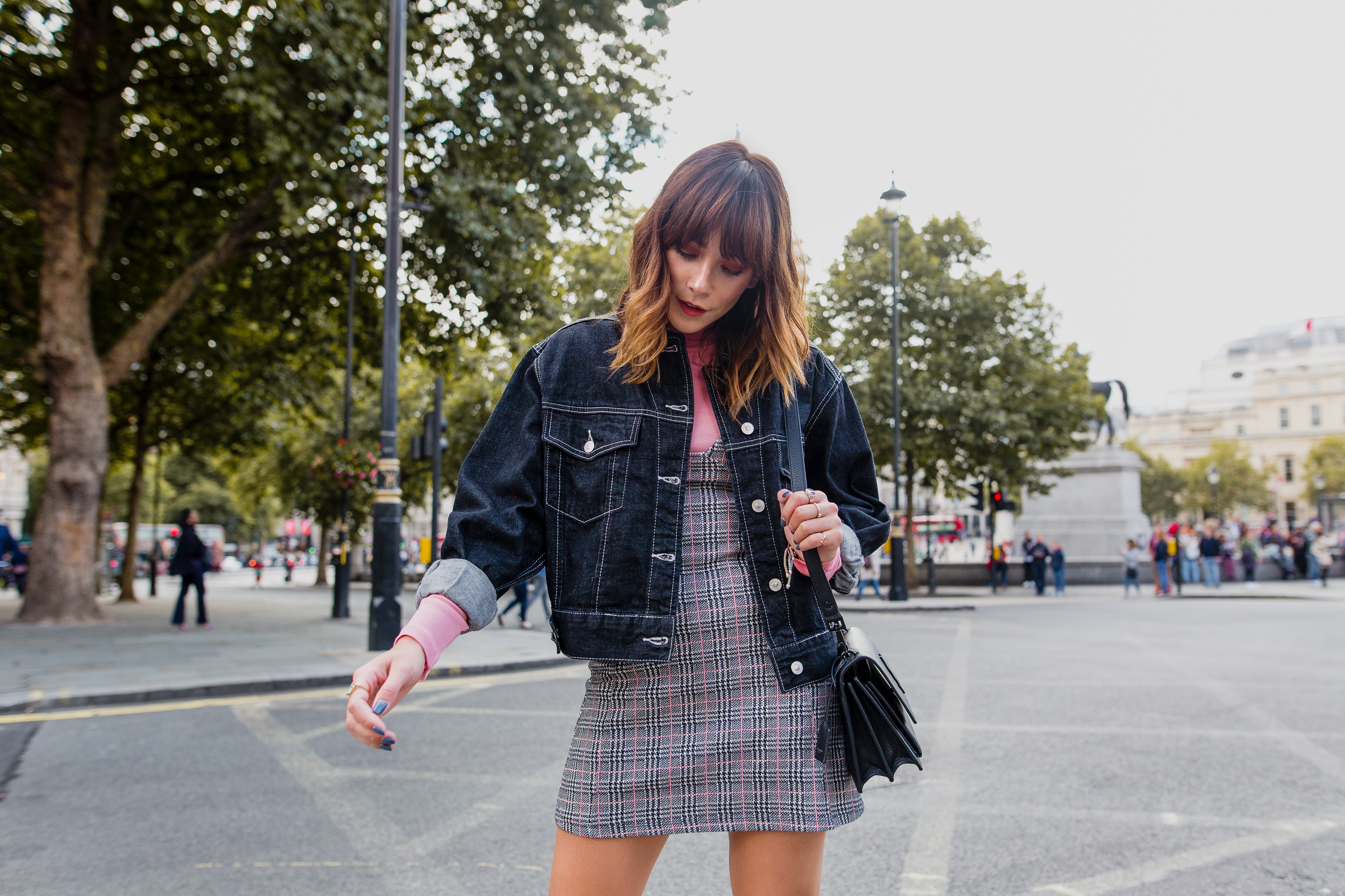 MEGAN ELLABY HOW TO DRESS UP A DENIM JACKET