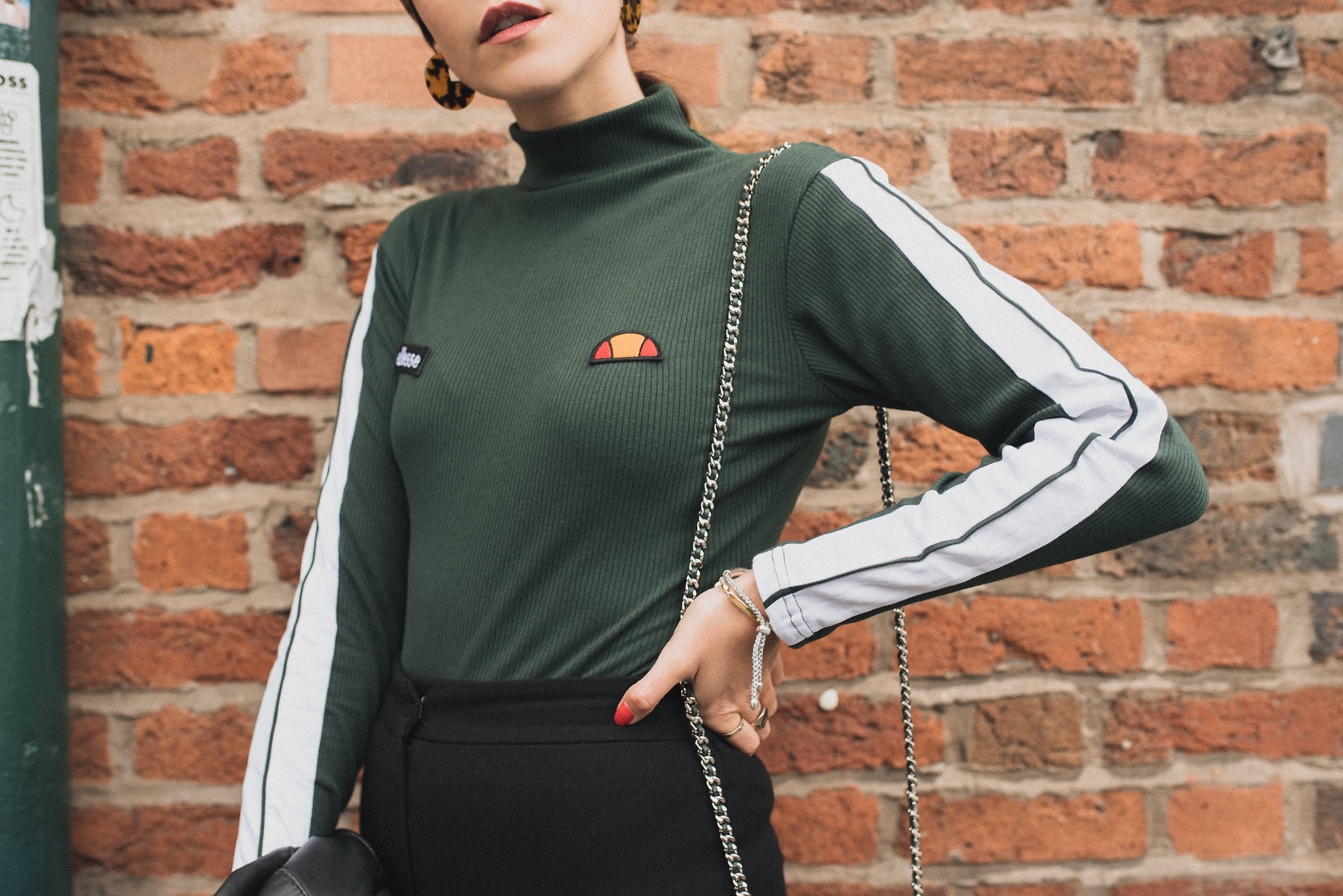 MEGAN ELLABY HOW TO WEAR FOREST GREEN