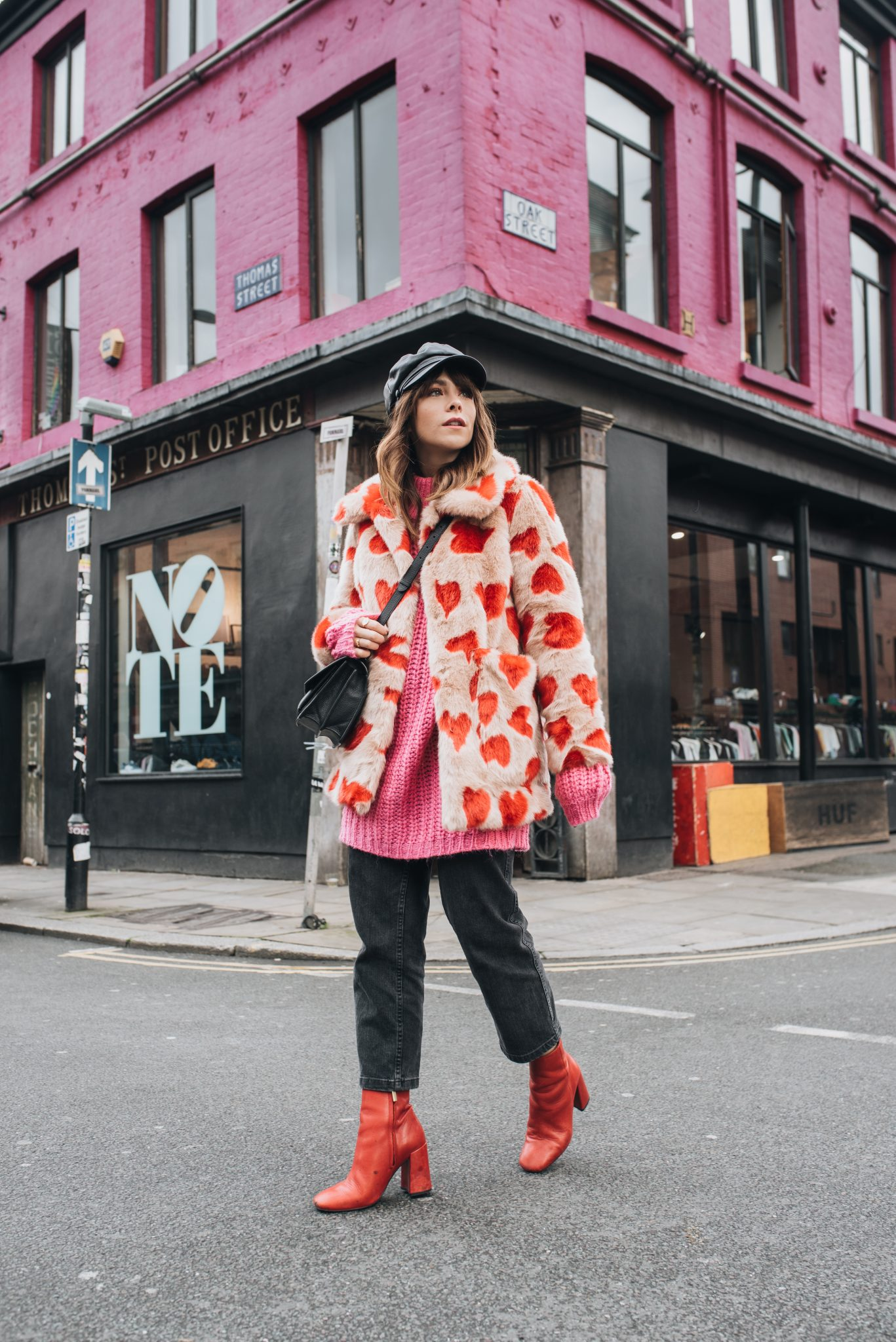 MEGAN ELLABY HOW TO WEAR COLOURFUL FAUX FUR
