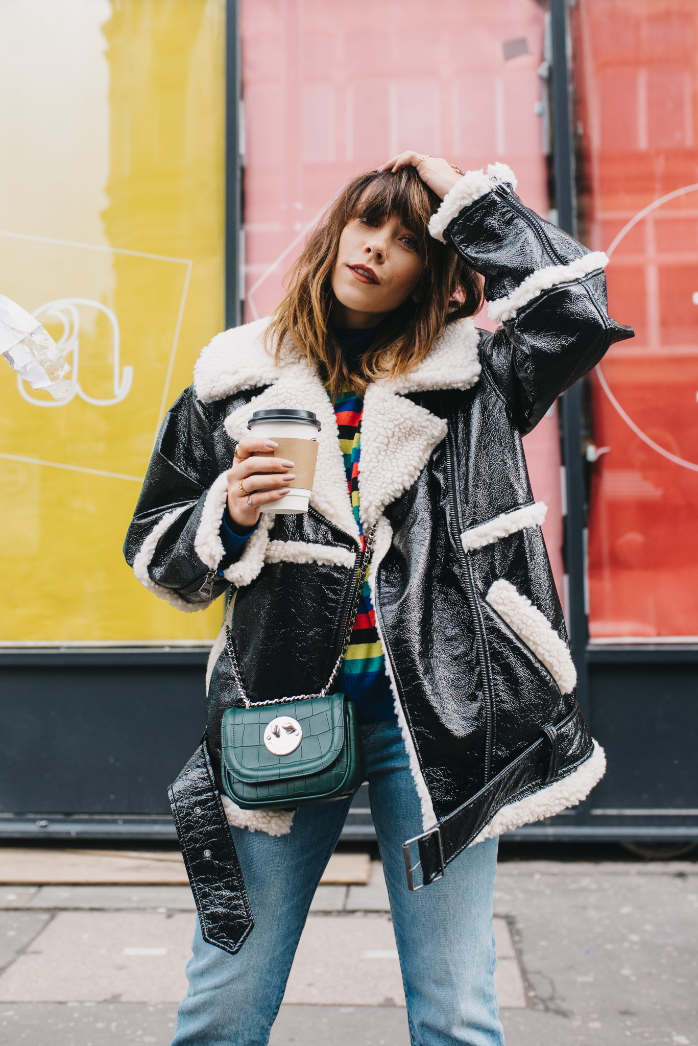 HOW TO STYLE VINYL THIS WINTER