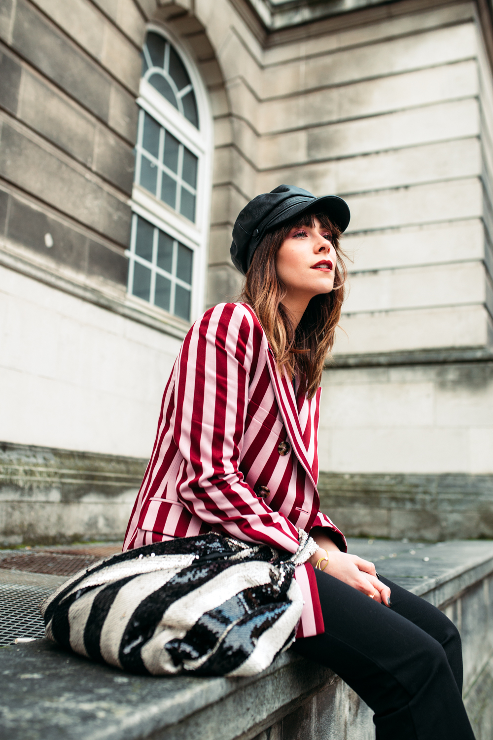 MEGAN ELLABY HOW TO WEAR DOUBLE STRIPES