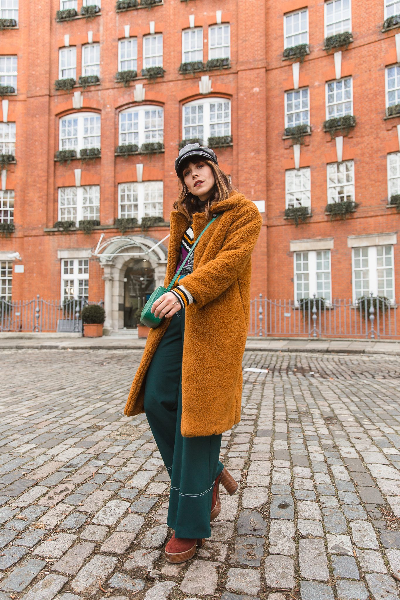 MEGAN ELLABY HOW TO WEAR A TEDDY COAT