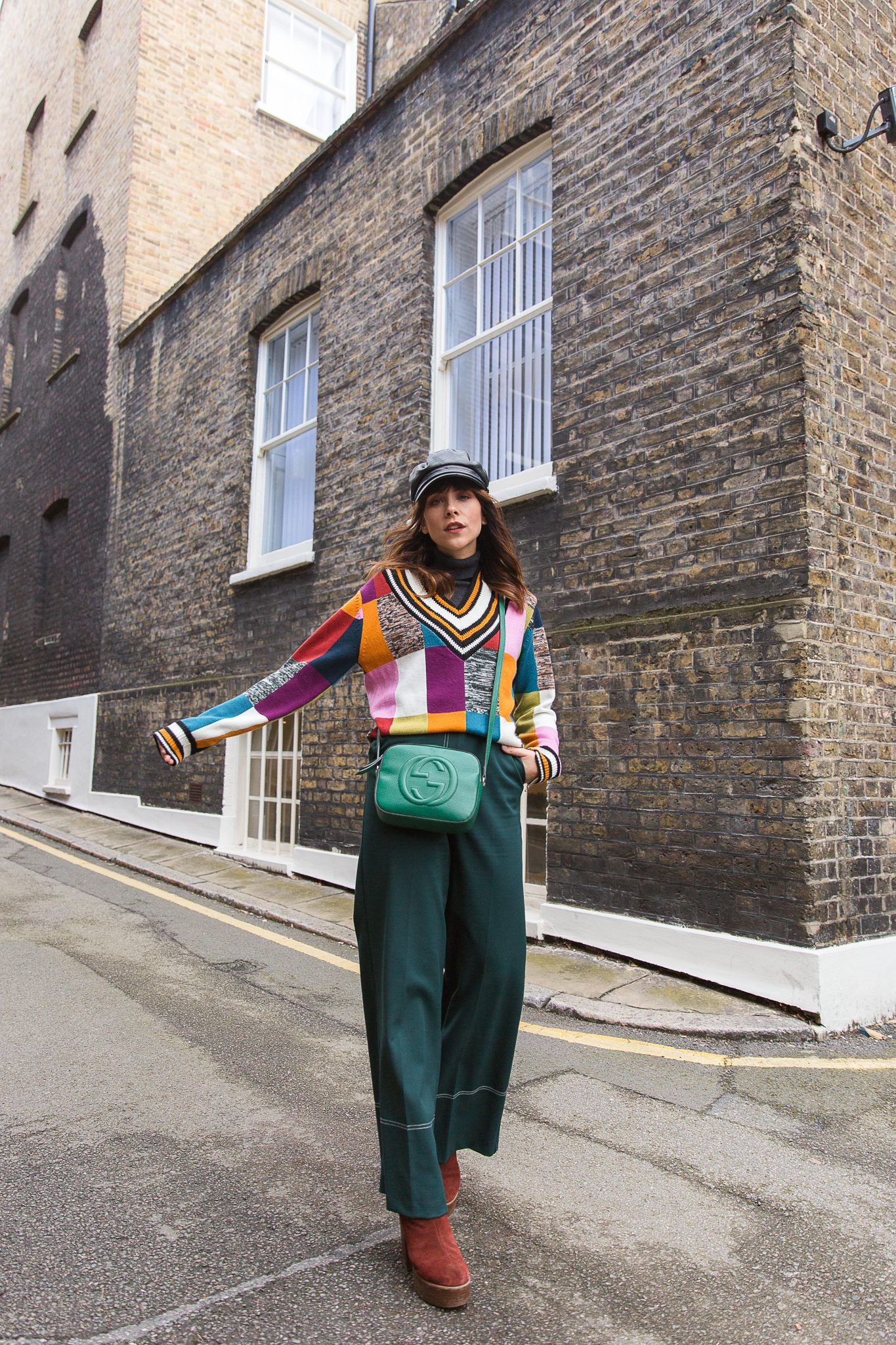 MEGAN ELLABY HOW TO WEAR GREEN