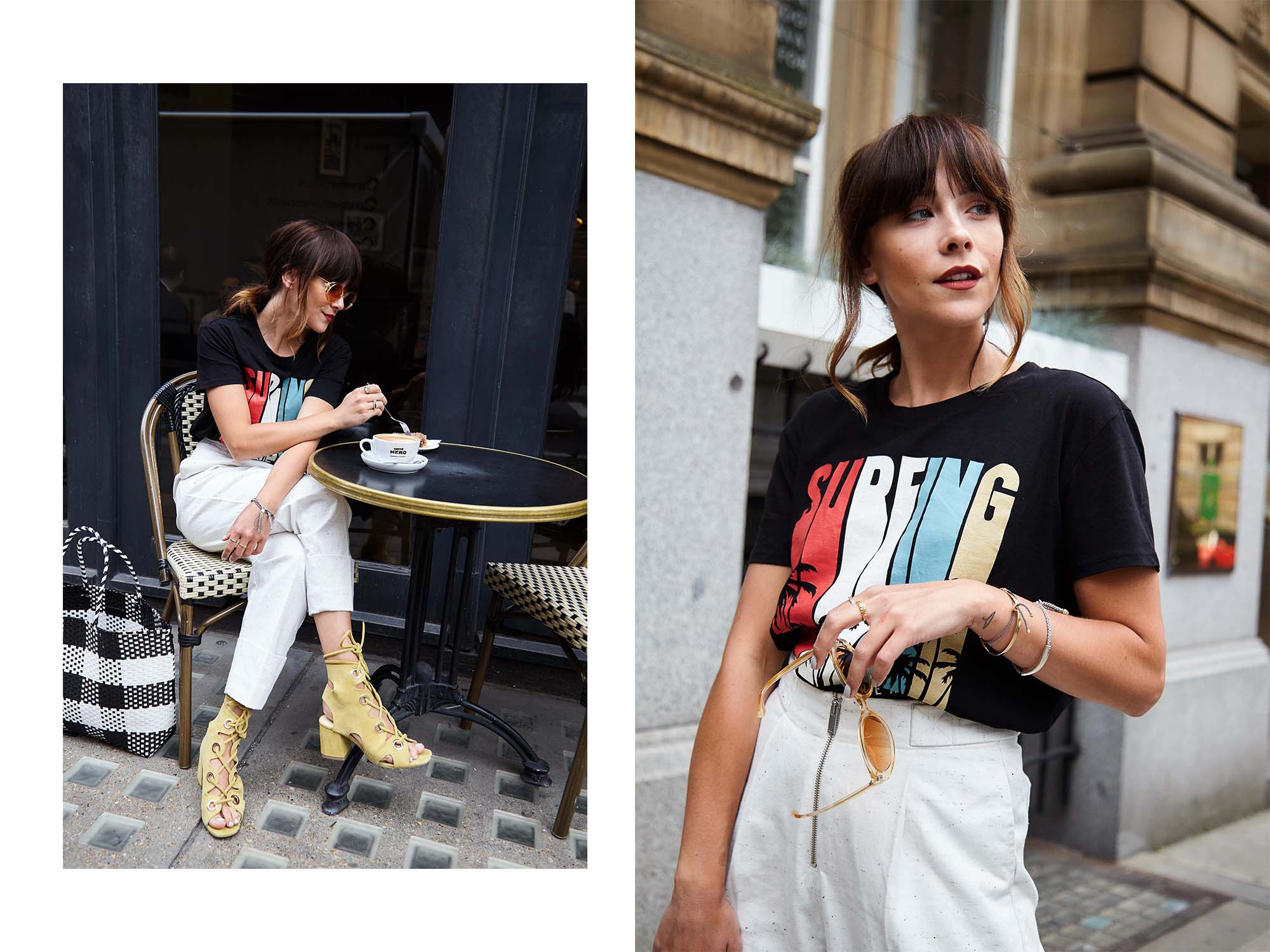 SUMMER IN THE CITY STYLE BY MEGAN ELLABY