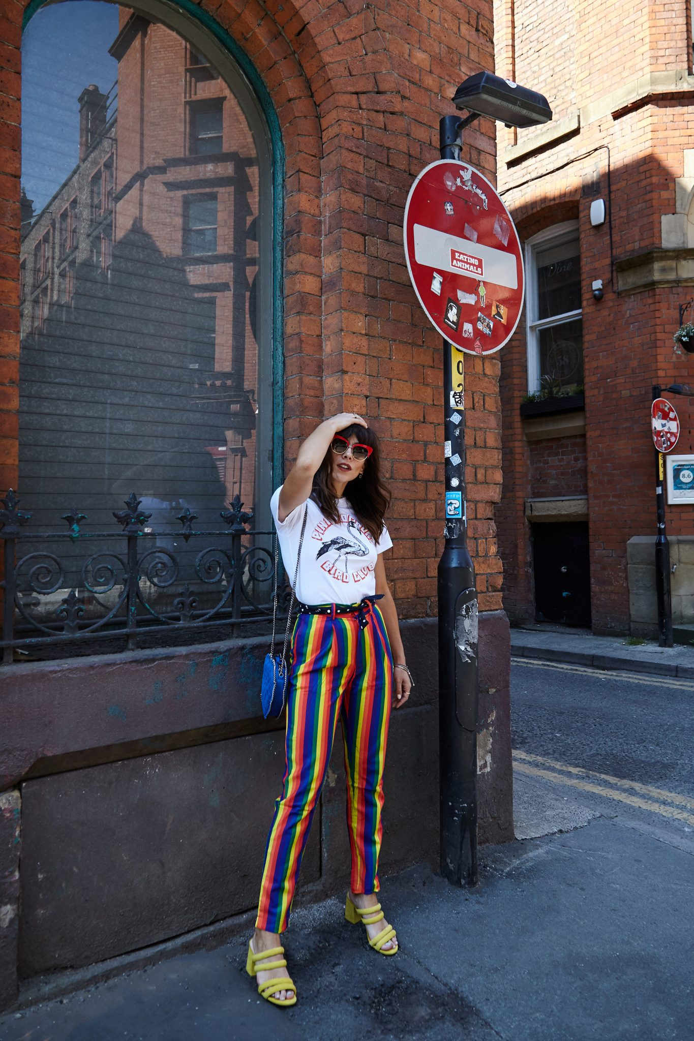 HOW TO STYLE RAINBOW TROUSERS