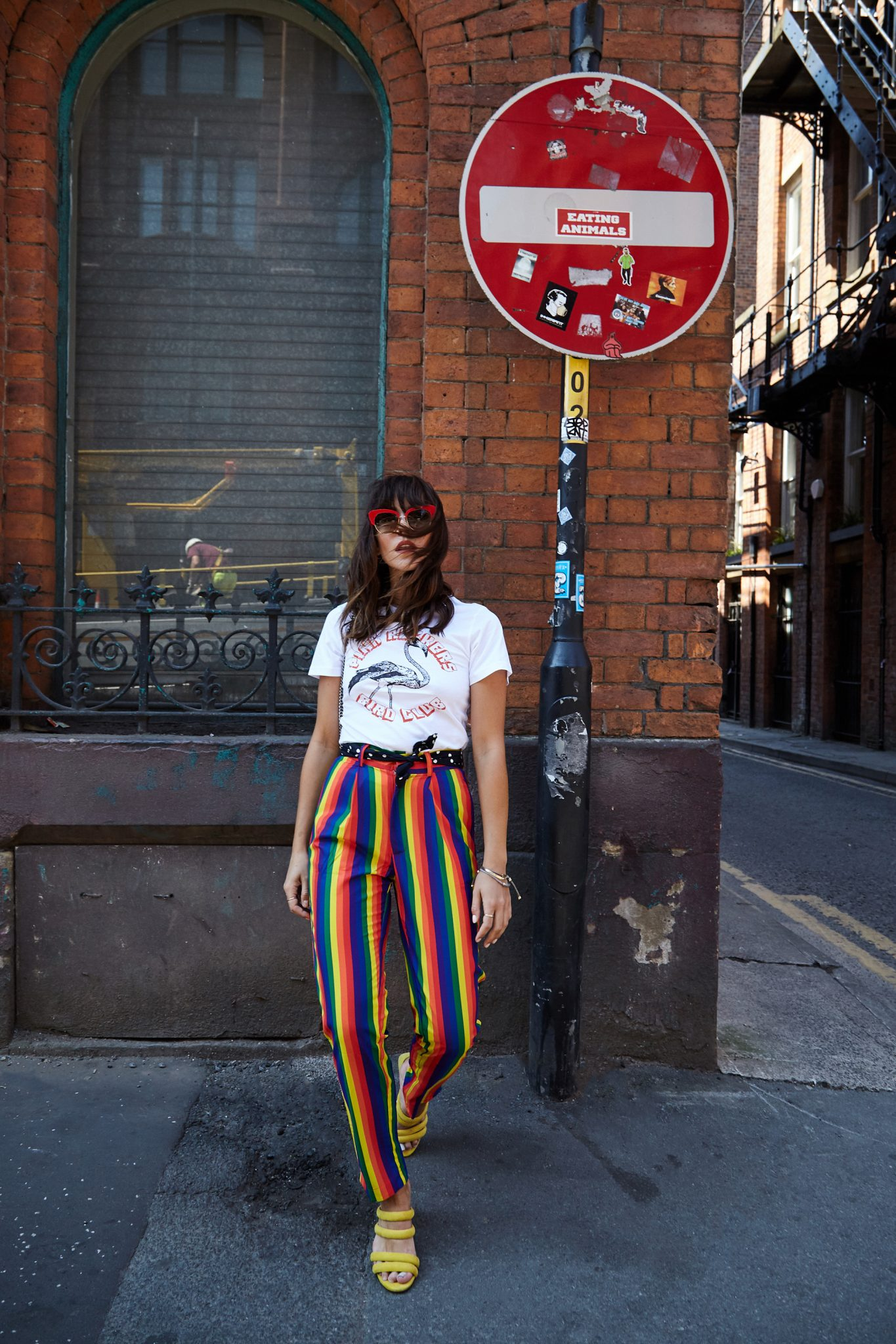 WHAT TO WEAR WITH RAINBOW PRINT