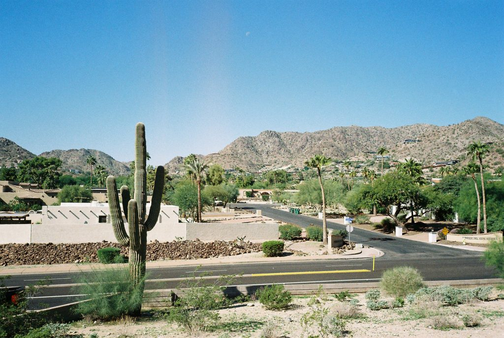 POSTCARDS FROM LA & ARIZONA ON 35mm FILM