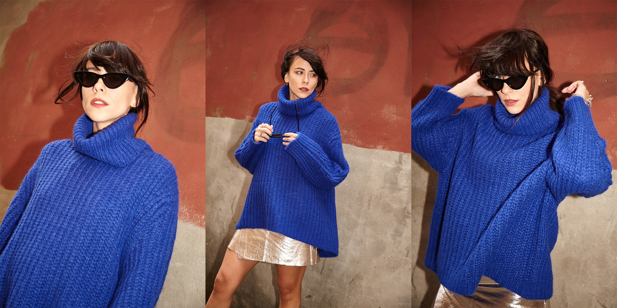 HOW TO STYLE UP KNITWEAR FOR PARTY SEASON