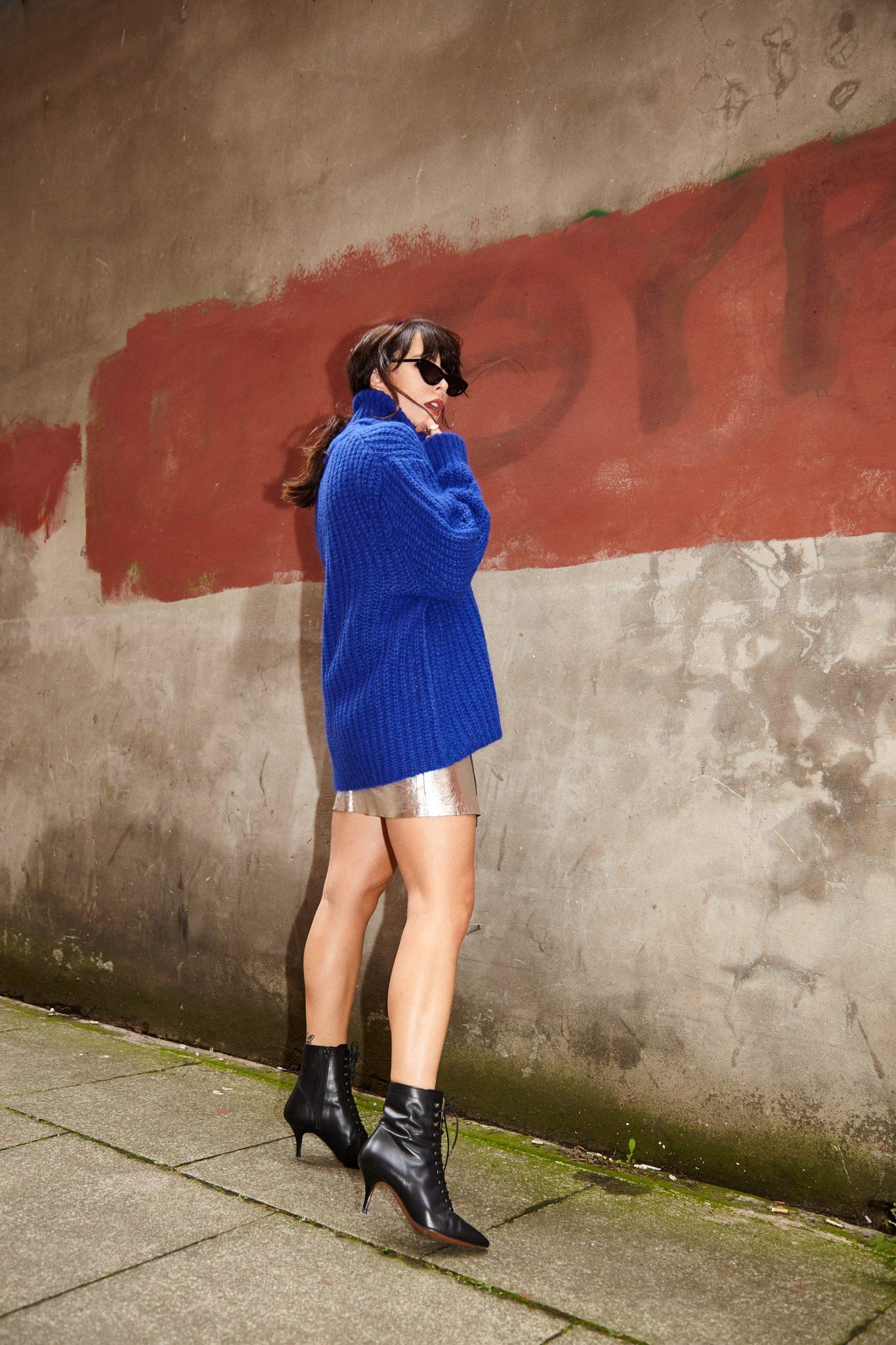 MEGAN ELLABY HOW TO WEAR COBALT BLUE