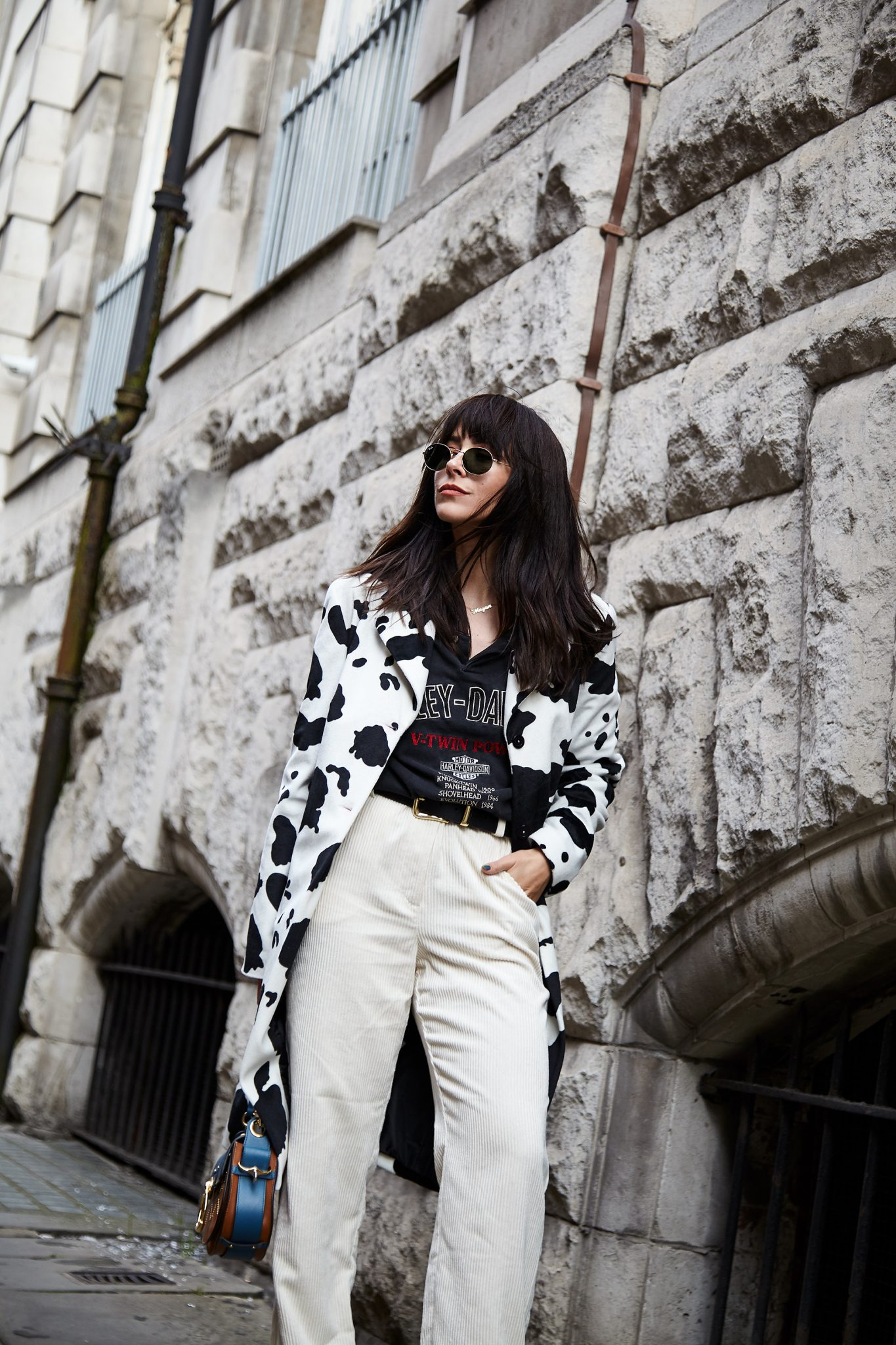 HOW TO WEAR VINTAGE COW PRINT