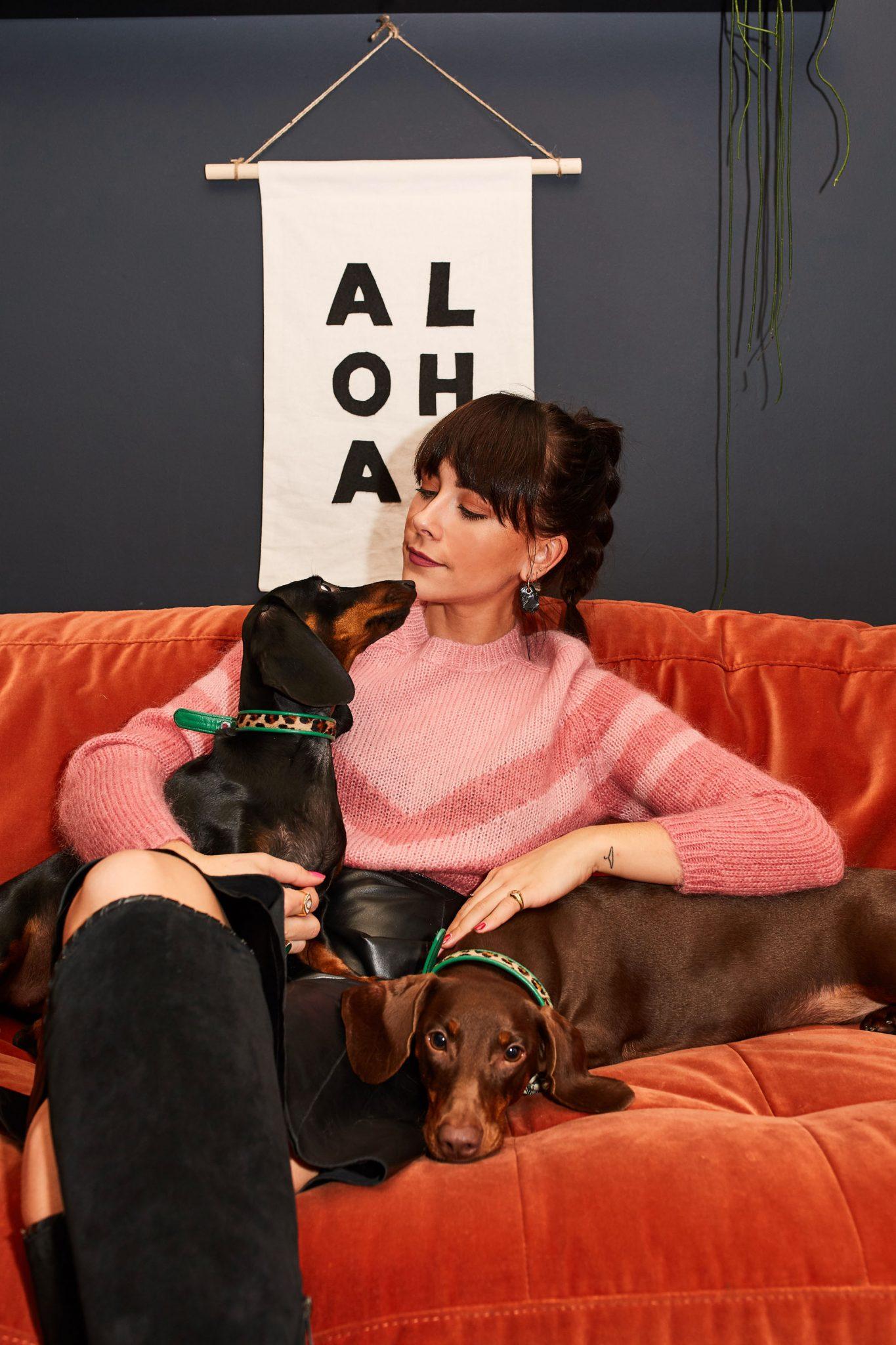 MEGAN ELLABY & GEORGE CRAIG SAUSAGE DOGS
