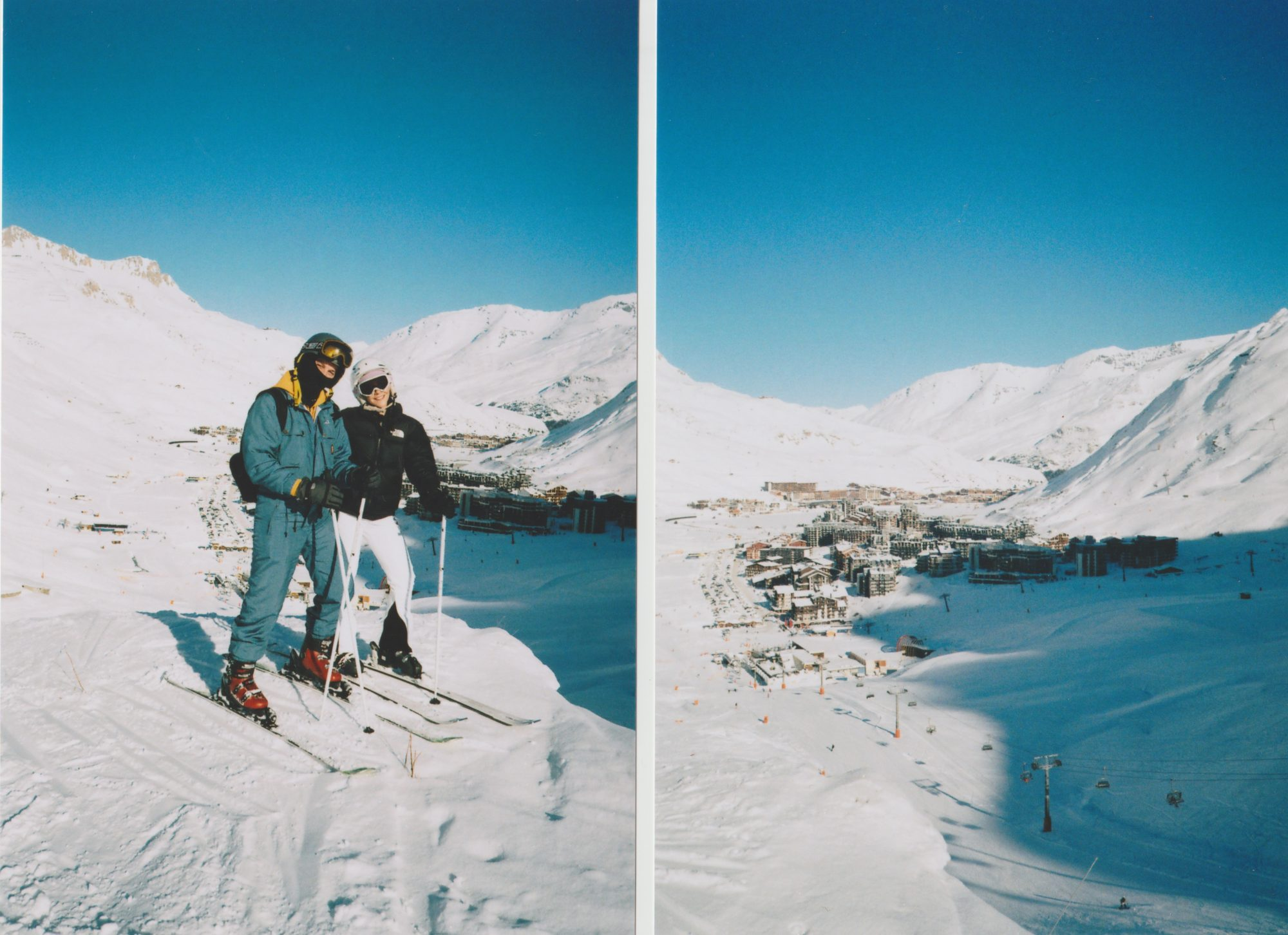 SKIING VAL D'ISERE