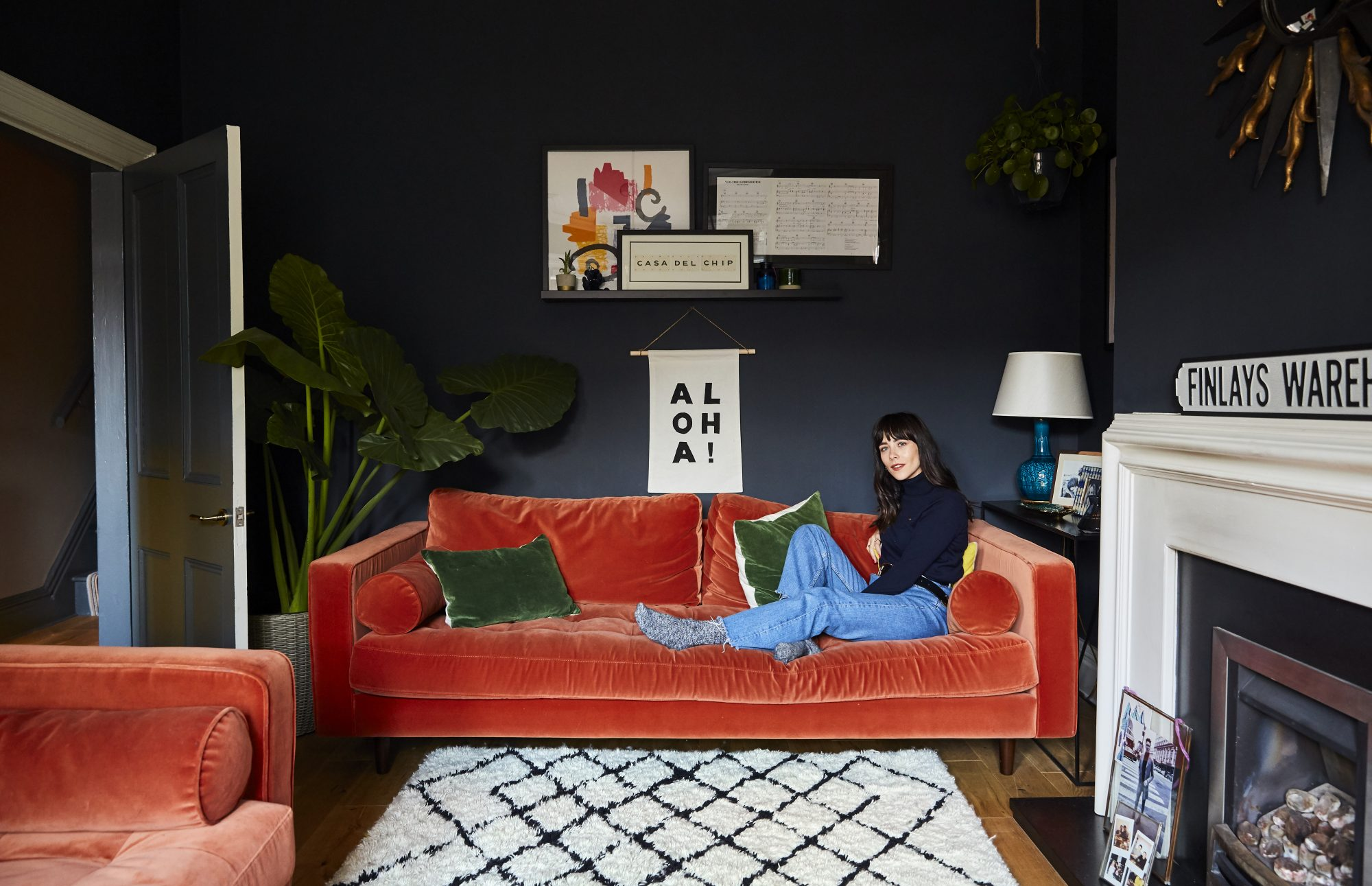 AT HOME WITH MEGAN ELLABY