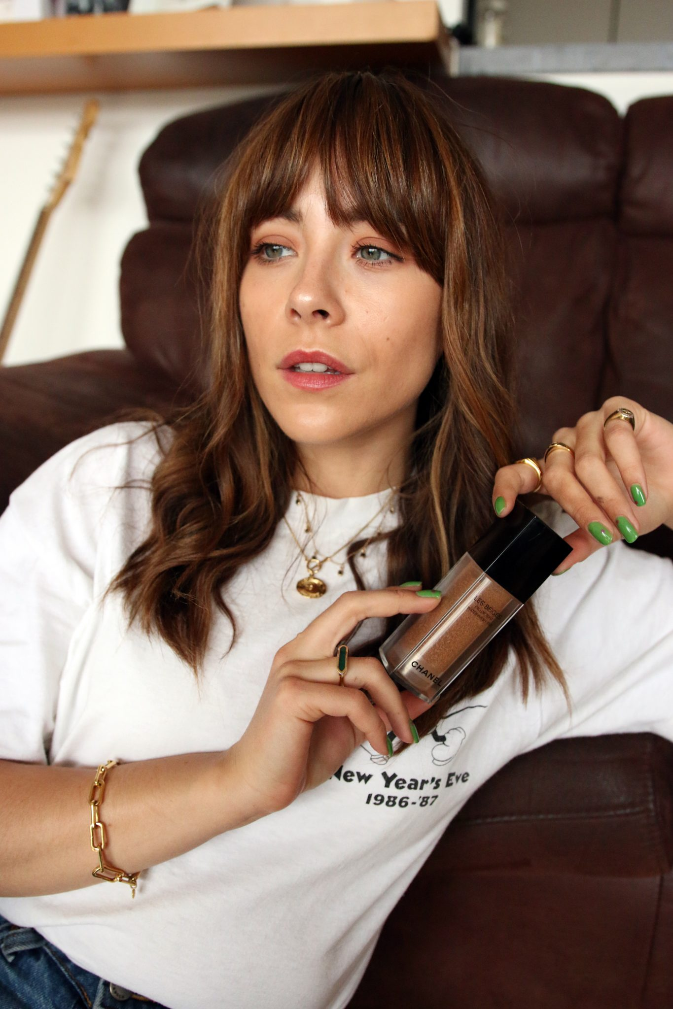 MEGAN ELLABY REVIEWS THE NEW CHANEL LES BEIGES FOUNDATION
