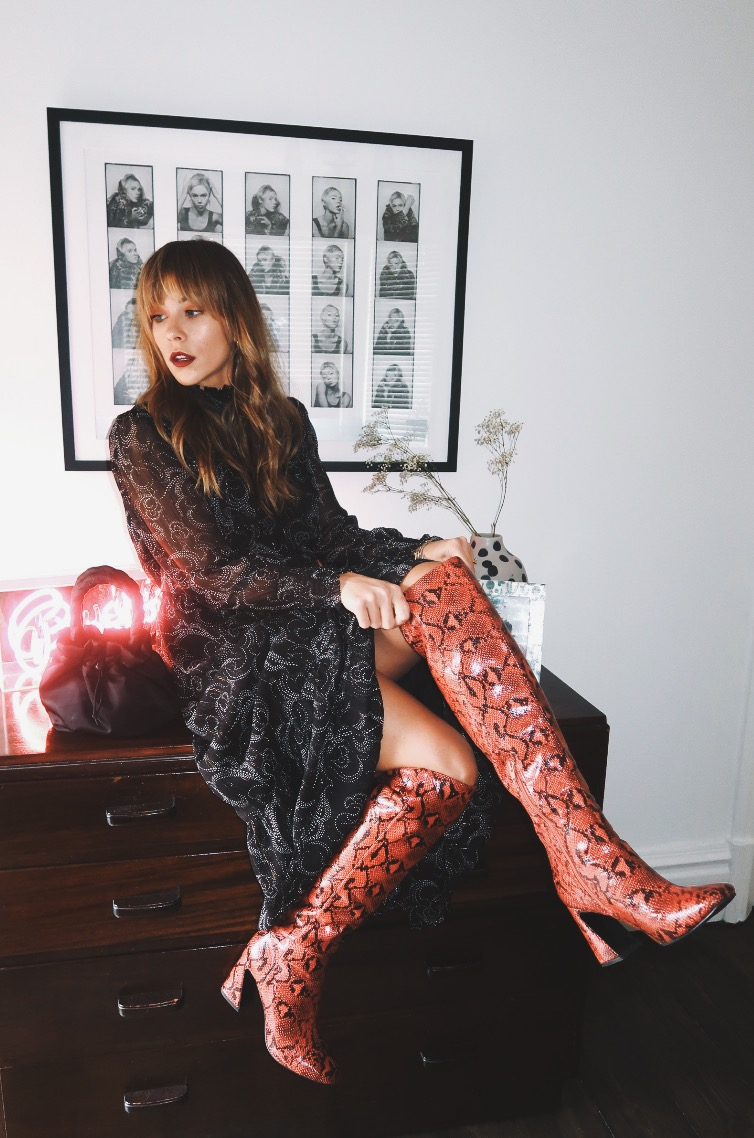 HOW TO STYLE KNEE BOOTS