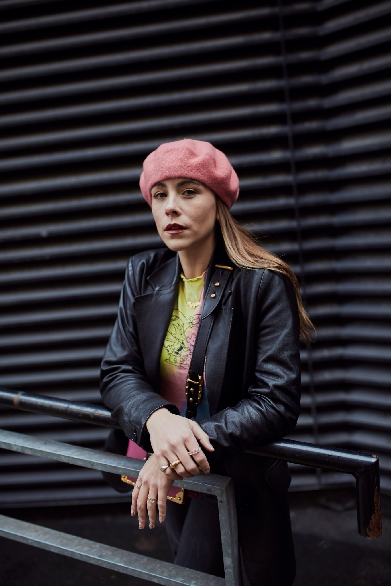 STYLING A BERET