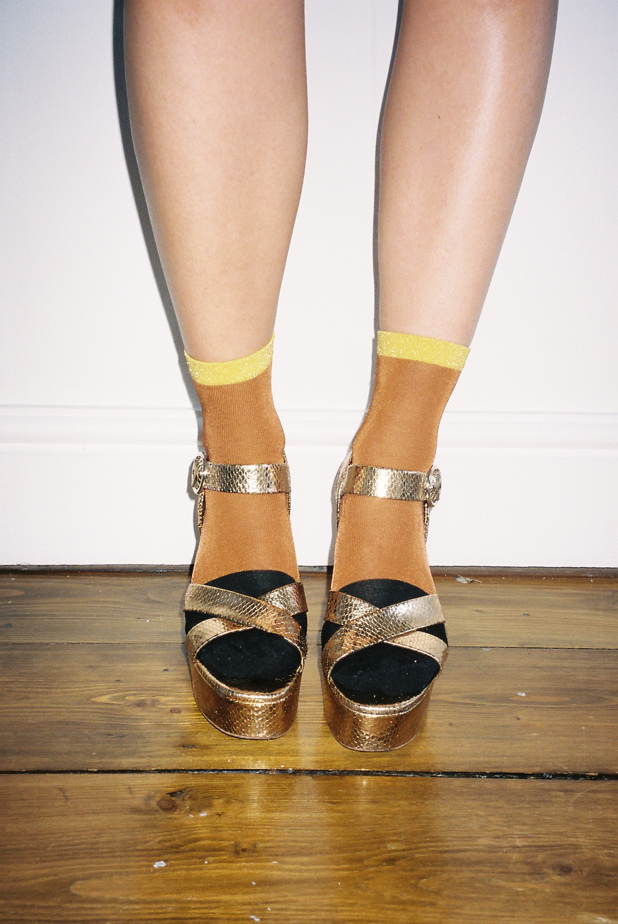 MEGAN ELLABY SOCKS AND SANDALS