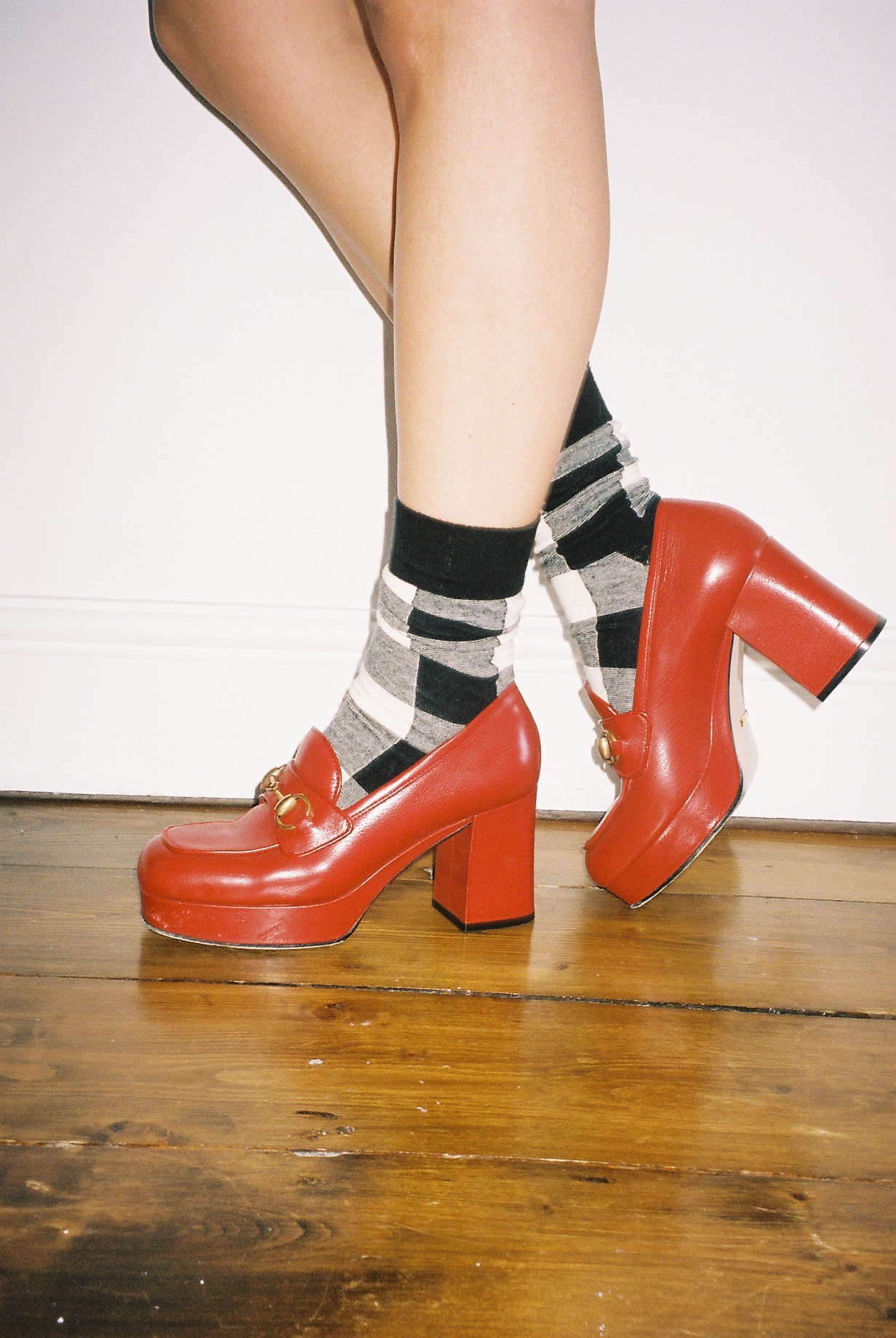 STYLING HEELS AND SOCKS