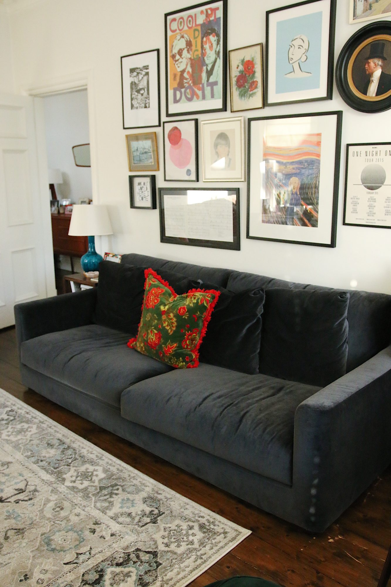 HABITAT RUPERT SOFA IN MEGAN ELLABY'S HOME